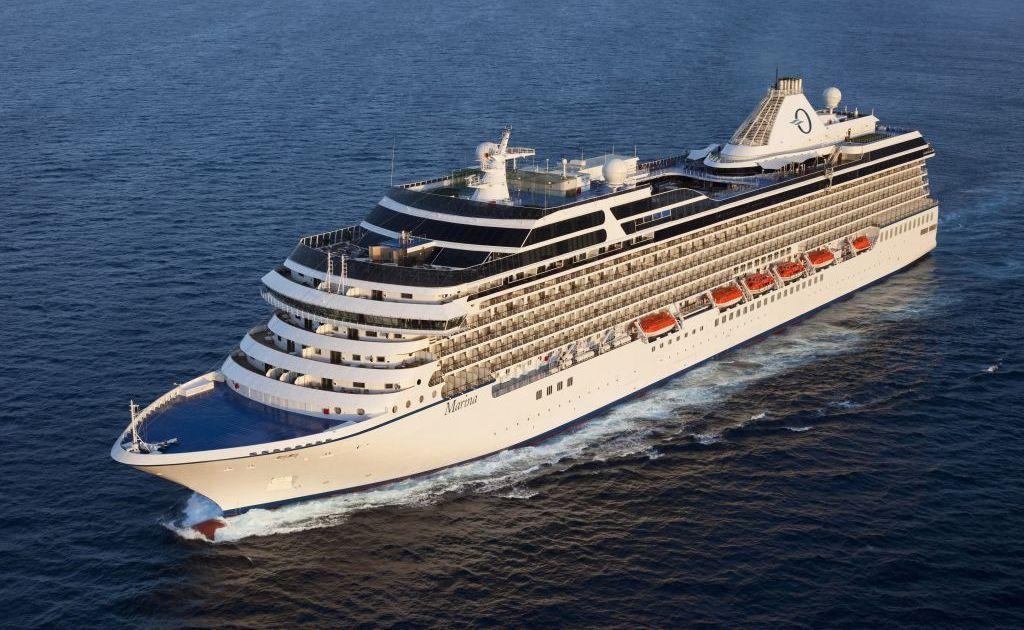 Oceania Cruises' Marina.