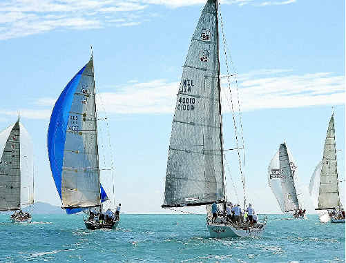 The IRC fleet heads north on day four of last year's Meridien Marinas Airlie Beach Race Week. IRC (International Ruled Club) racing is the international standard of racing and one of 10 race week competition classes this year.