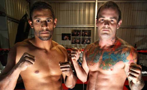Kerrod Lawton and Mitchell Schukking are ready to get back into the ring this weekend as a tag team.