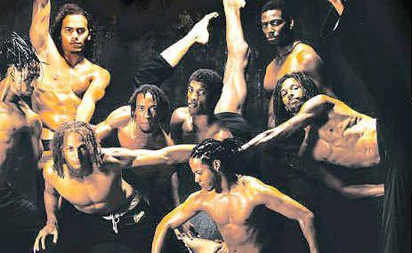 Ballet Revolucion prepares for the tour in Havana, Cuba.