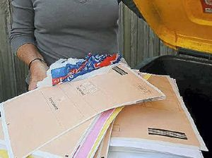 Census forms found in garbage bin