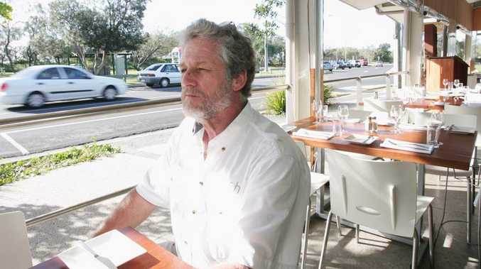 Jon Koning of Fish on Parkyn restaurant at Mooloolaba.