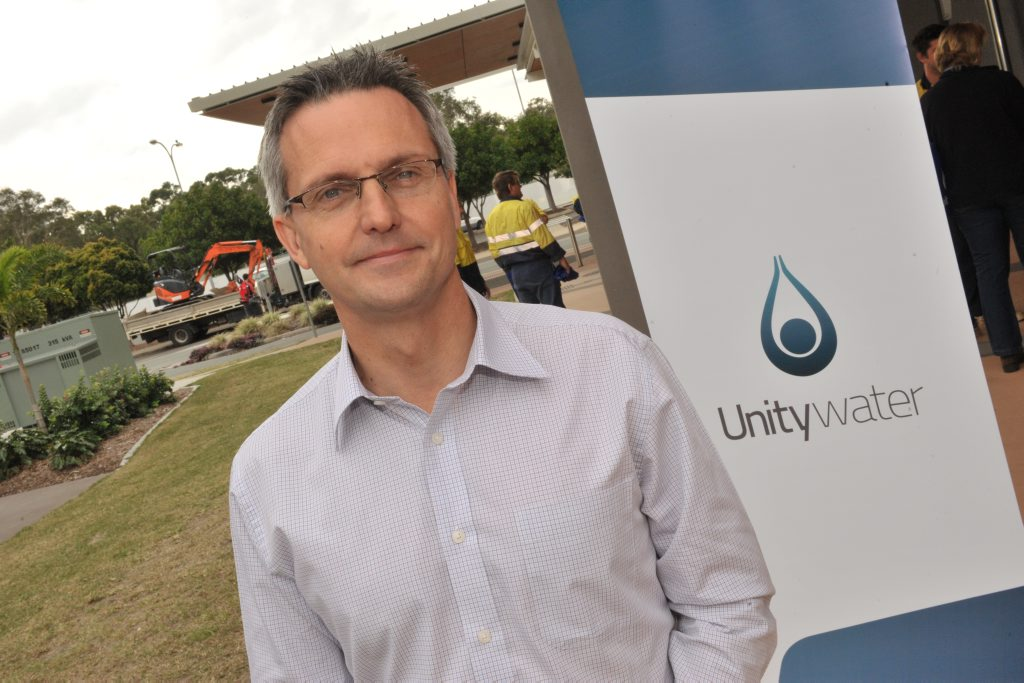 Unitywater CEO Jon Black.