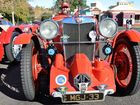 MG Car Club member Ross Kelly hits the road in his 1933 MG J3 Midget.