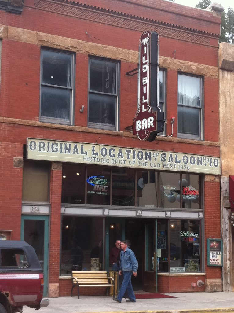 Deadwood Number 10 Saloon today.