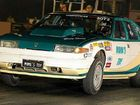 Terri Sander in her 350ci Chevy V8 Powered Rover at Willowbank Raceway.