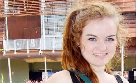 Caitlyn Ball from Canberra was impressed with Open Day at the University of the Sunshine Coast.
