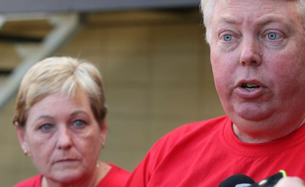 Bruce and Denise Morcombe have written an open letter of thanks to the people of Australia.