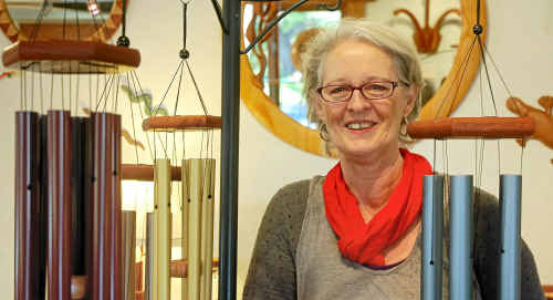 CHANGE OF TUNE: Butter Factory Woodcraft Gallery owner Betty Ross is moving on after 16 years. UTE SCHULENBERG