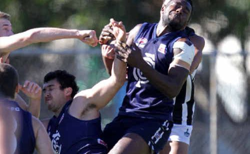 Cooly Blues forward Ali Pinda was missing, busy representing Papua New Guinea at the International Cup.