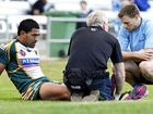 Ipswich Jets back rower Lorenzo Maafu will not play for a month after injuring his ankle.