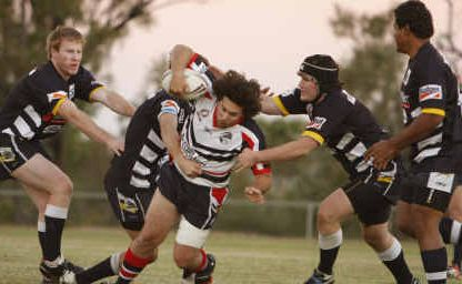 Blackwater Crushers had the Cowboys' defence in a daze earlier this year, but had big trouble with their own at the weekend against Bluff Rabbitohs.