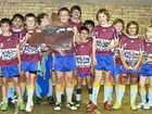 The winners of the under-11/12 Gympie grand final victors Manly.