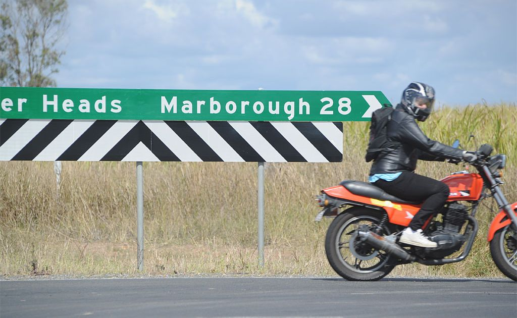 This way to the mythical city of Marborough...