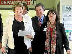 Minister tight-lipped on hospital