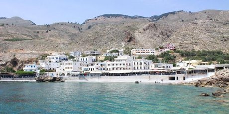 The tranquil vilage of Sfakia, Crete.