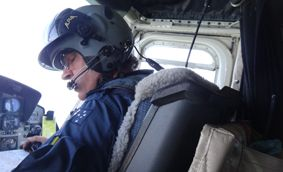 The Mackay-based RACQ CQ Rescue Chopper has joined the search for two men missing after an ultralight aircraft failed to return to Emerald Airport late yesterday.