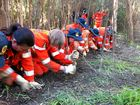 SES hits the ground in hope