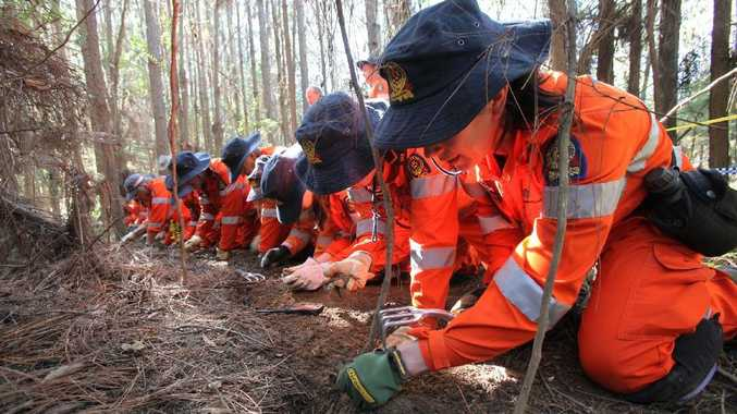 The search for Daniel Morcombe's remains. FILE IMAGE
