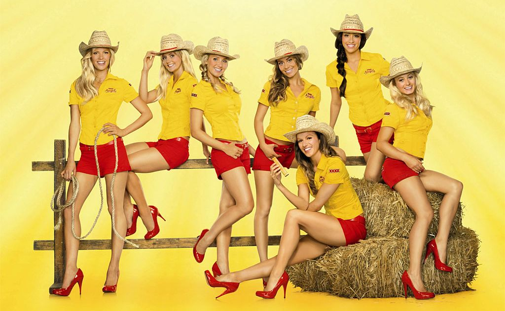 The XXXX Angels will be back at the Optus Gympie Music Muster this year.