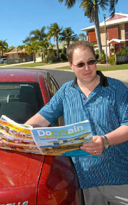 Mark Sing, of Tasmania, is on the hunt for a home in Mackay but is happy to wait and watch the market for the right buying opportunity.