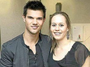 Coast teen meets Taylor Lautner