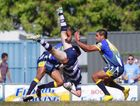 Action from the Yeppoon Seagulls - Rockhampton Brothers Rugby League Grand Final.   Photo CHRIS ISON