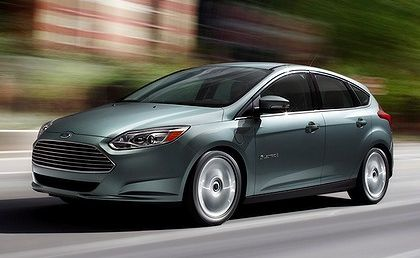 Ford's Focus Electric will be able to use solar panels to charge its batteries.