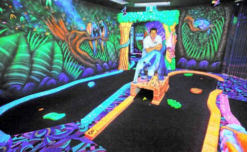 Brian Parker of Tabatinga has developed a franchise model for the family fun centre.