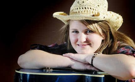 Stephanie Ward-Wrigley is the youngest solo artist to perform on the Main Stage at the Gympie Muster.