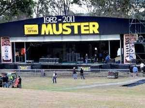 Muster main stage opens up