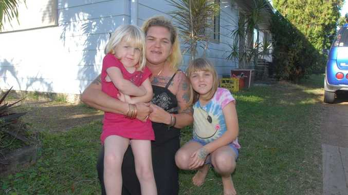Ros Chapman with daughters Abigail and Storm.