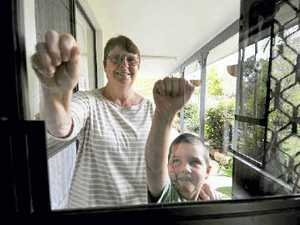 Family has a heart for doorknock