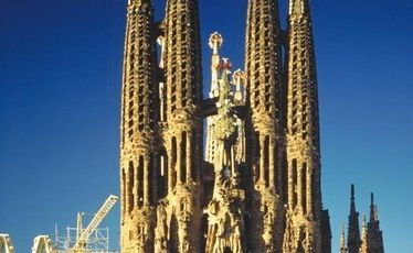 Antoni Gaudi's La Segrada Familia church is just one of Barcelona's many architectural attractions.