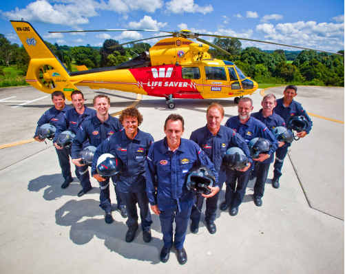 ANNUAL APPEAL: The Westpac Life Saver Rescue Helicopter celebrates 20 years in partnership with Westpac this year.