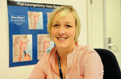 Bundaberg Hospital speech pathologist Sarah Terry urges adults with literacy problems to seek help.