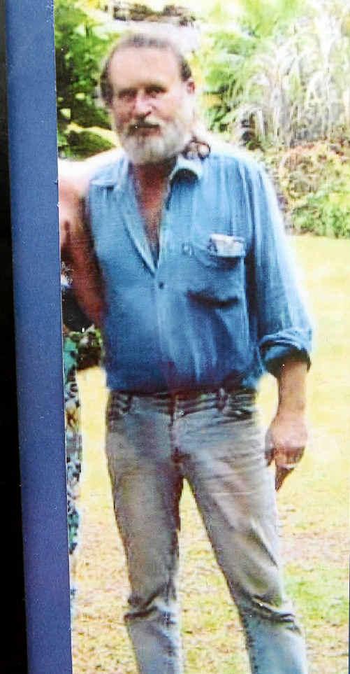 Luke Ogilvie, whose remains were found at his Bilambil home.