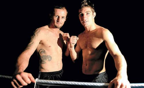 Boxers Ryan Langham and Casey Hannan will both fight tonight.