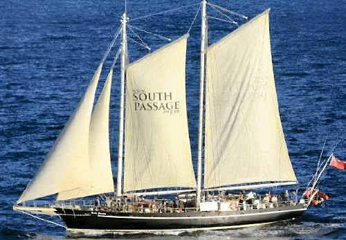 CRUISING: The South Passage sailing boat will dock at the Mackay Marina this weekend. The 19th century replica will host a crew of 13 students and teachers from Yeppoon, who will complete a four day voyage to Rosslyn Bay.