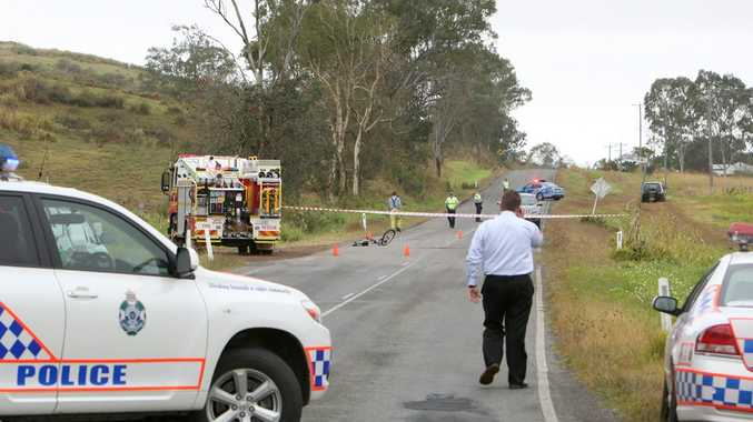 A boy has died after his bike and a vehicle collided near Sarina this morning.