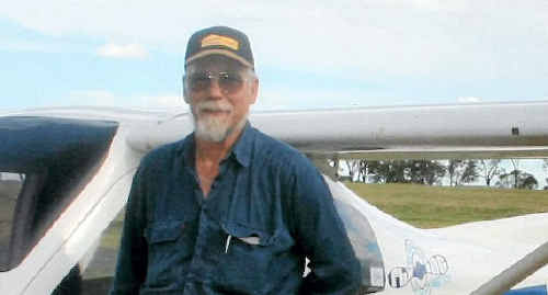 Warwick resident Rob Behrend was one of two men who died in a plane crash at Emerald last Wednesday.