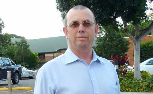 Master Plumbers Association Queensland executive director Adrian Hart in Emerald to address members this month.
