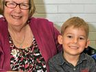 Beth Jones and Jesse Higgins, 4, have been busy preparing for this year's eisteddfod.