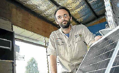 Rainbow Power director Paul O'Reilly says the dumping of the solar bonus scheme has 'frozen the industry'.