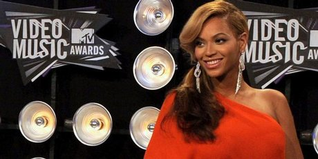 Beyonce at the MTV Video Music Awards.