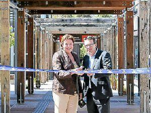 Transport hub opens