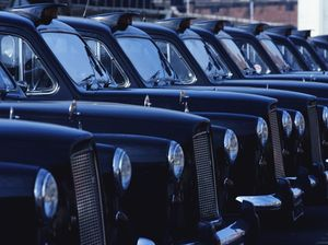All hail the London taxi
