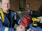 Evans Head ambulance officer Geoff Senior is only one of three SCAT paramedics on the North Coast.
