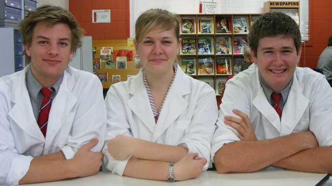 Jacob Pedersen, Colin Hoyle and Melanie Stevenson.
