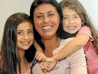 Jill Johnson and her children Shakira, 9, and Dekotah, 5.